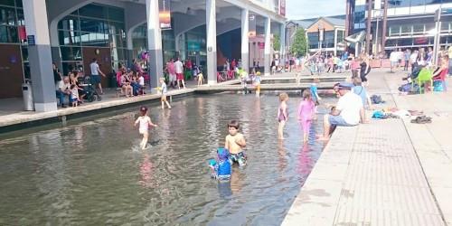 Kids having fun with water, tara miran